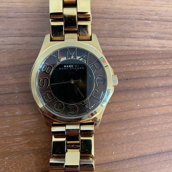 Chunky Gold Marc Jacobs Watch